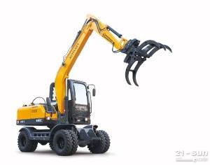 新源挖掘机整机