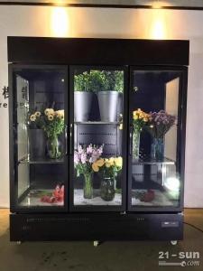 鲜花自助售货机 鲜花保鲜柜 鲜花制冷柜 鲜花冷藏柜