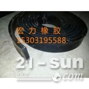 平板橡胶止水带I45-75平板橡胶闸门用底止水侧止水垫板