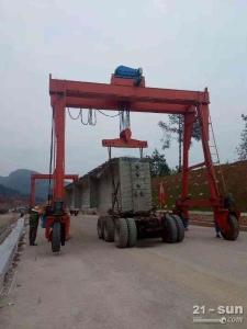 安徽淮南轮胎式起重机生产厂家坚持诚信经营的原则