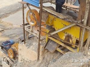 二手细颚式破碎机制砂机低价处理