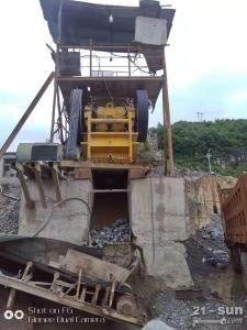 二手69颚式破碎机制砂机砂石料生产线设备整套低价处理