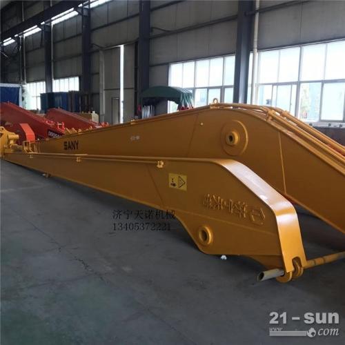 日立330挖掘机18米加长臂天诺机械现货供应。