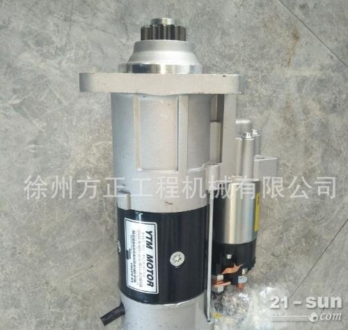 沃尔沃挖机配件EC360B/EC460B原装起动机11127679现货