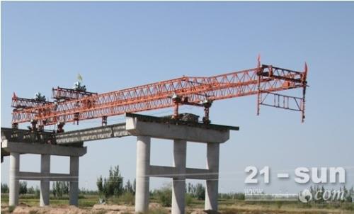 青海西宁架桥机租赁厂家赢得客户信赖