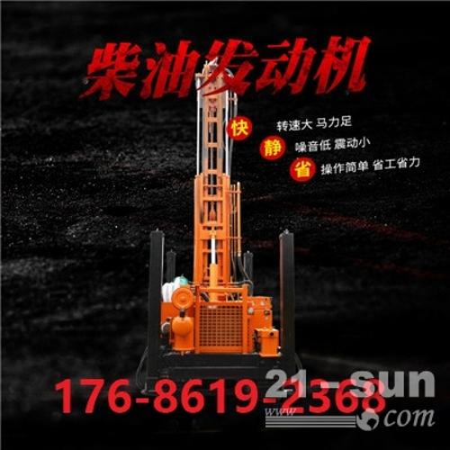 履带水井钻机 气动打井设备  HQZ-300L恒旺气钻  气动