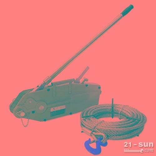 0.8T1.5吨3.2T5T30M米链手扳葫芦 铝合金钢丝绳手扳葫