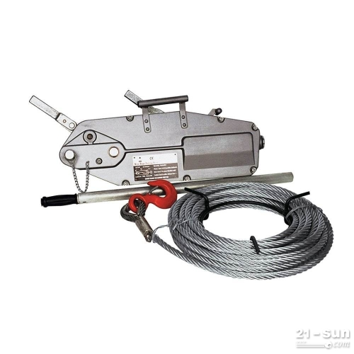 钢丝绳手扳牵引机环链手扳葫芦3.2吨铝合金吊篮牵引葫