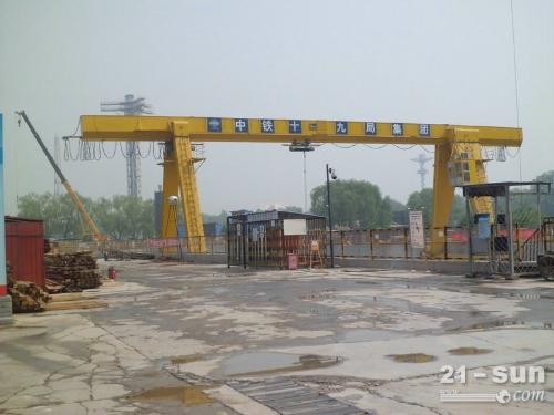 河南洛阳出租简单高效的10吨龙门吊起重设备