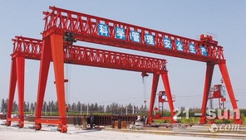 浙江杭州龙门吊出租20吨设备质量可靠