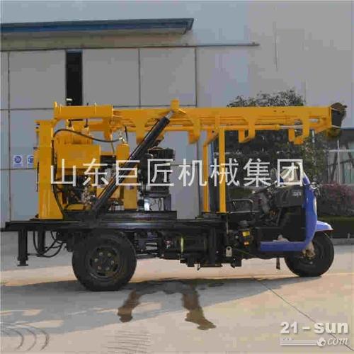供应履带地质勘探钻机 200米履带岩芯钻机取芯钻