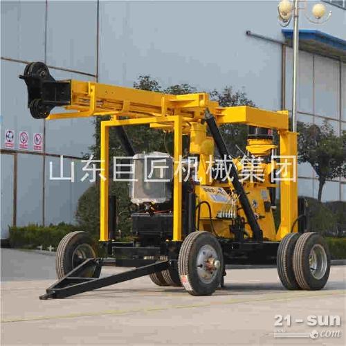 厂家直销轮式XYX-3轮式液压岩芯钻机600米拖挂岩芯钻机