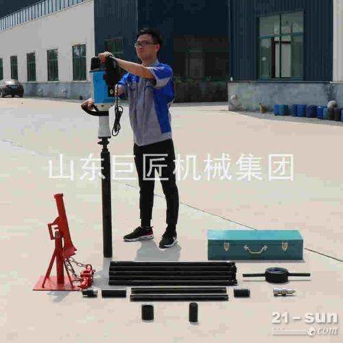 巨匠集团QTZ-3D便携式电动取土钻机 非扰动土样取出器
