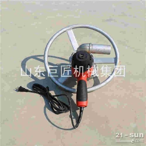 供应SJD-2A便携式电动打井机 220v家用水井钻机