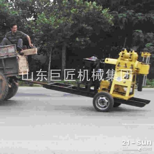 供应轮式水井钻机现货液压打井机200米钻井机