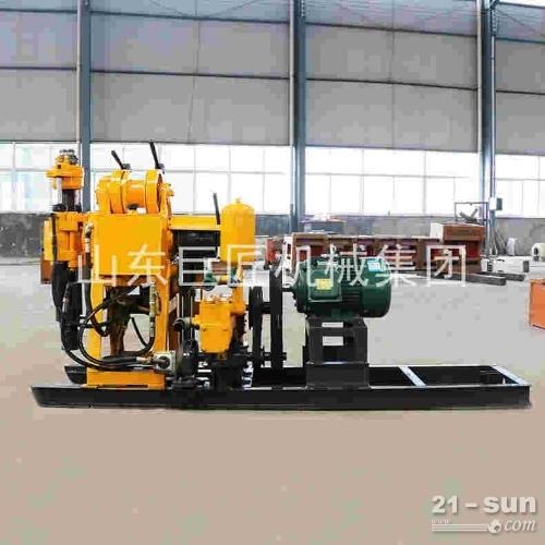供应HZ-130Y液压水井钻机打水井钻机设备百米钻井机低价