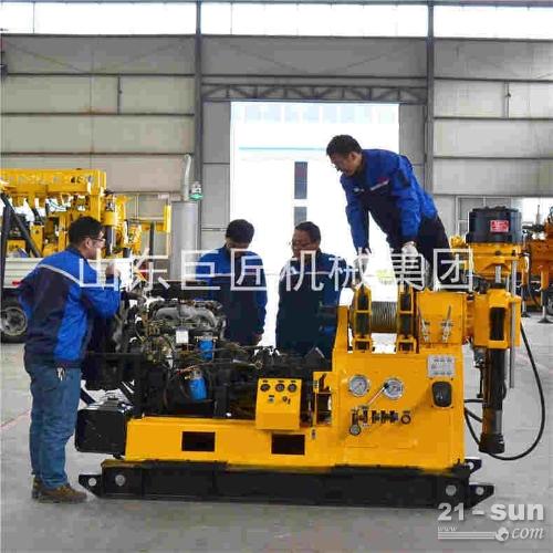供应XY-3液压水井钻机 600型打井机 深水钻井机直销