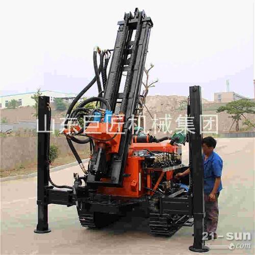 厂家直销履带式气动水井钻机 气动打井机风动钻井设备