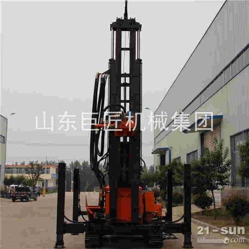 厂家直销FY-400履带式气动水井钻机 风动冲击式钻井机