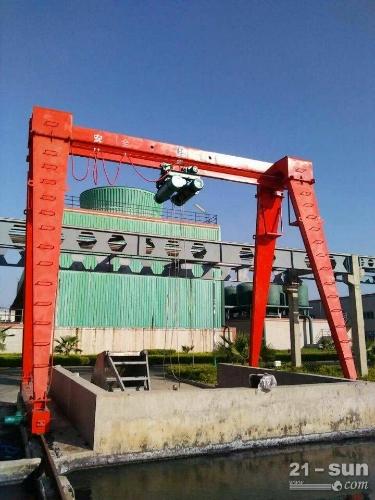 广西河池龙门吊出租10吨倒三角结构龙门吊
