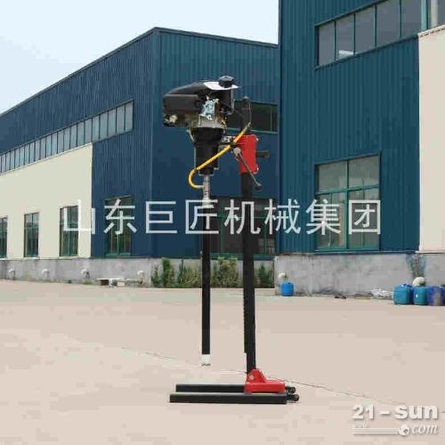 华夏巨匠立式背包钻机 30米轻便岩心钻机 钻孔取芯