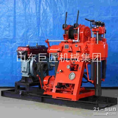 供应180米打井钻机 液压水井钻机 家用钻井机操作简单