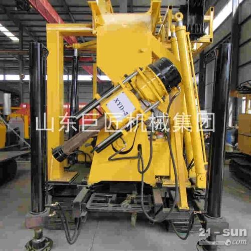 供应XYD-3履带式液压水井钻机 600米深履带钻机现货
