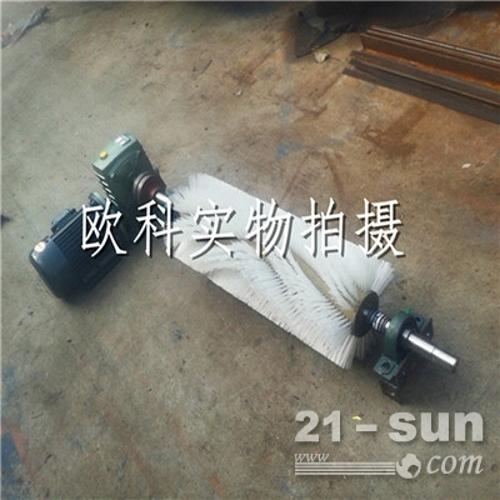主动滚刷清扫器煤矿厂皮带滚刷清扫器