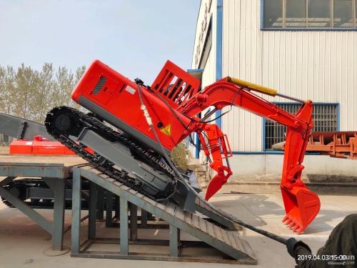 煤矿用电动液压挖掘机的应用特点