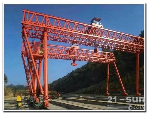 陕西西安龙门吊出租20吨有大规模生产能力