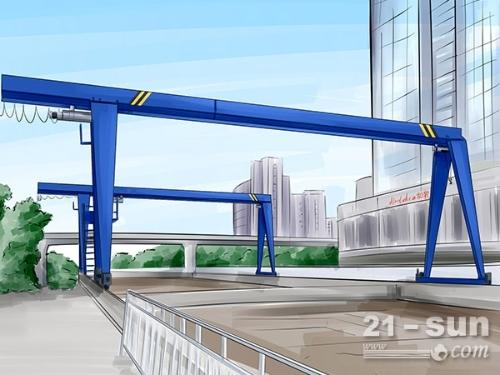 浙江金华10吨龙门吊安全操作流程