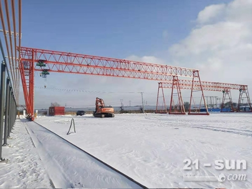 云南昆明20吨包厢式龙门吊租赁价格优惠