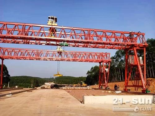浙江杭州龙门吊出租20吨基础已经做好