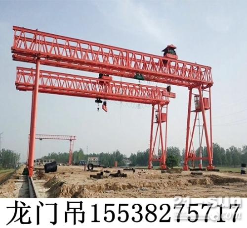 浙江金华80吨龙门吊租赁工作级别高