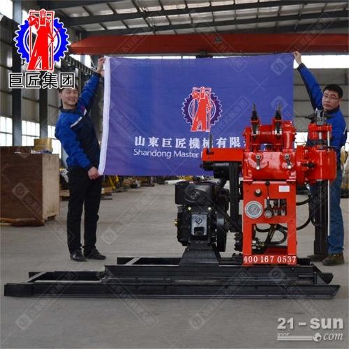 钻井机 小型液压打井机130地源热泵打井巨匠HZ-130YY