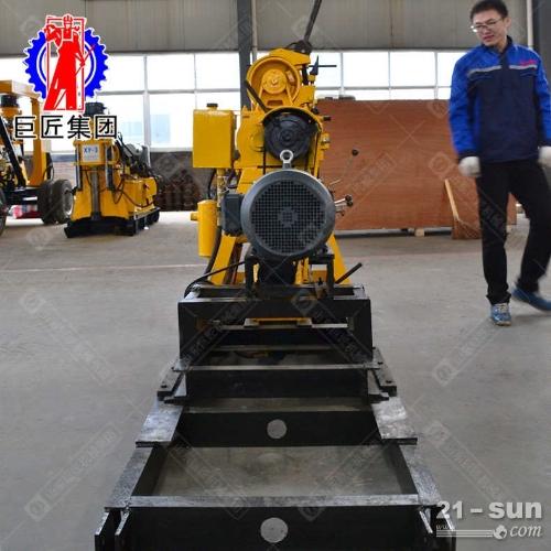 钻井机 200型液压水井钻机小型打井设备巨匠HZ-200YY