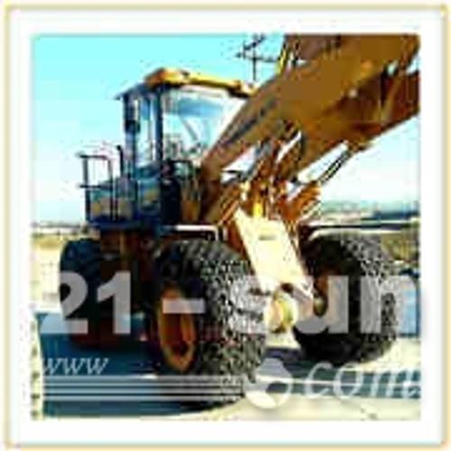 天津统威金属小型装载机轮胎保护链1000-20型号加强加密型保护链