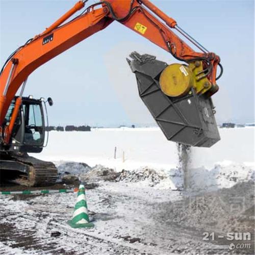 奎屯生产挖掘机碎石机生产厂家