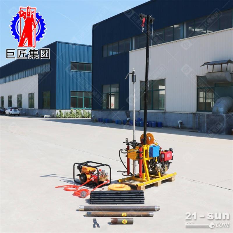 YQZ-50B型液压轻便钻机 供应YQZ-50B型液压轻便钻机 轻便勘探钻机50米进尺快