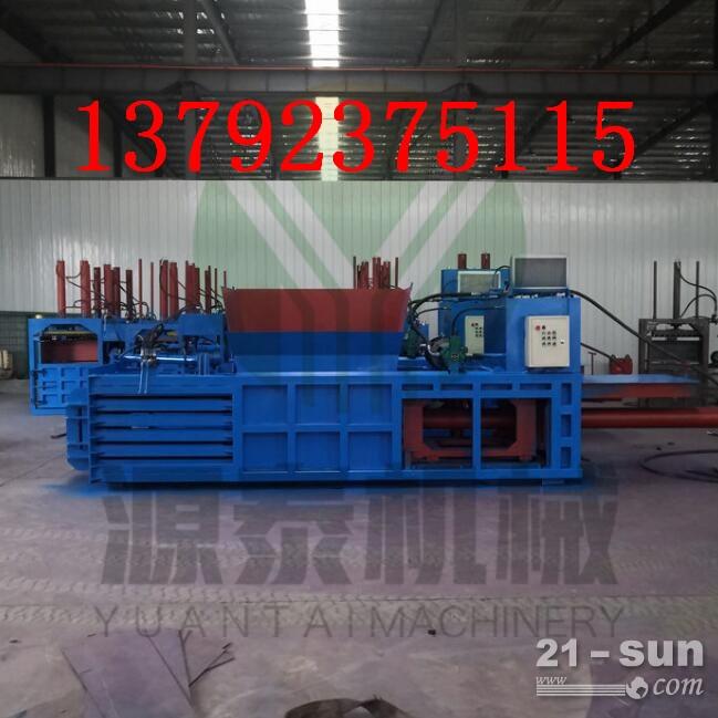 山东直销120吨有门卧式打包机 适用多种产品的压缩打包机