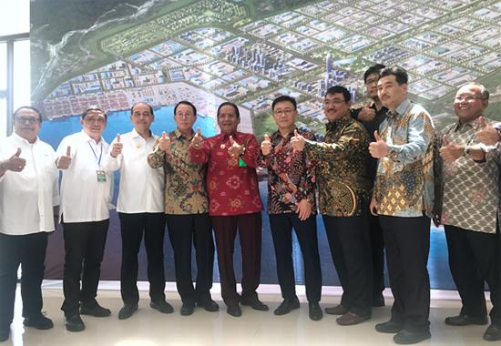 泰富在印尼签署帕卢经济特区项目合作备忘录