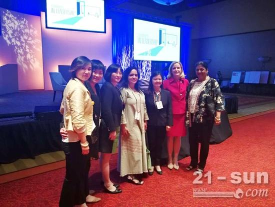卡特彼勒第四届女性领导力大会