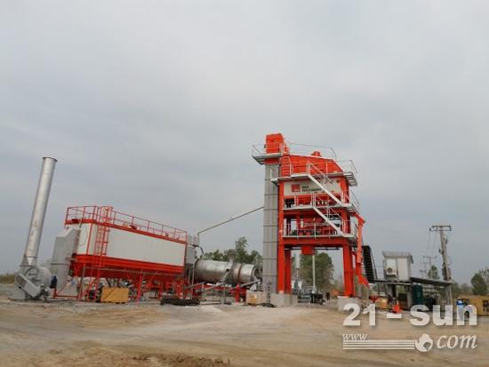 德基机械DG1500型设备泰国施工现场