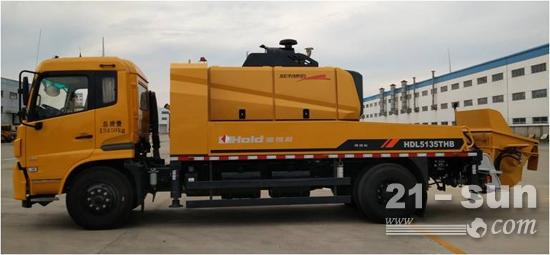 柳工建机首台自主研发的国五车载泵试制完成