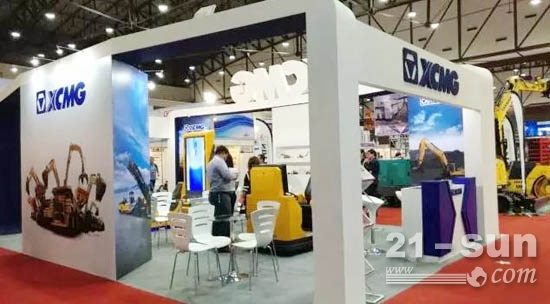 """""""徐工金""""丰收泰国建筑工程机械展 斩获意向订单近千万美元"""