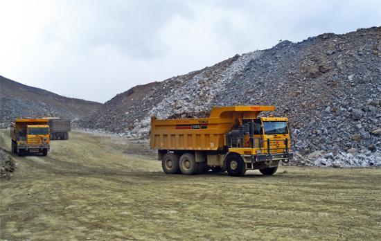 同力重工产品在西藏
