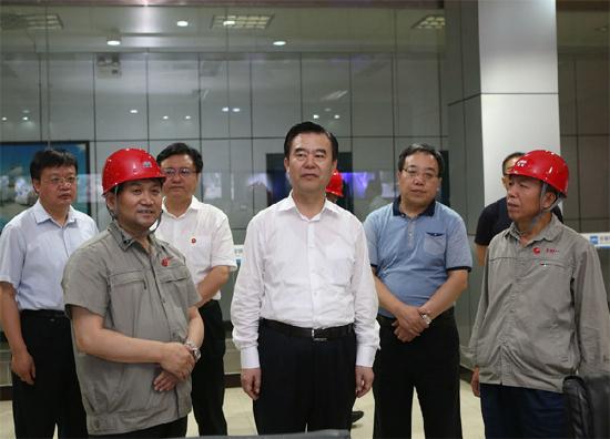 河北省副省长李谦到河钢宣钢调研