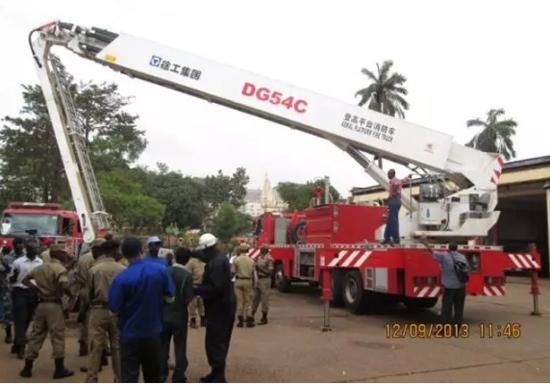 徐工消防装备在乌干达