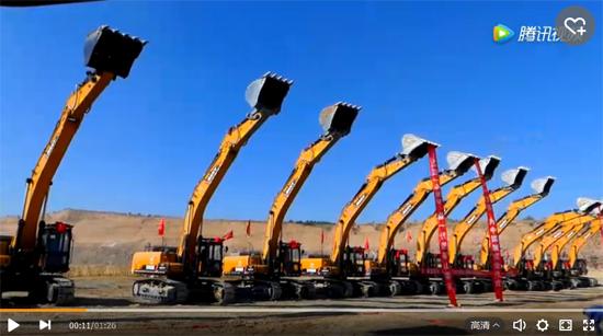 三一13台SY485挖掘机助力纳林庙灾害治理三期工程