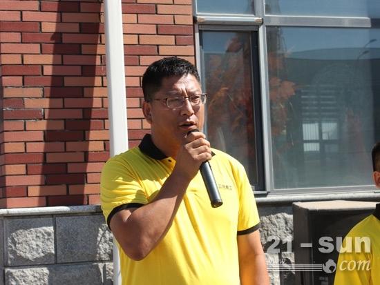 永大集团总经理张学军致辞